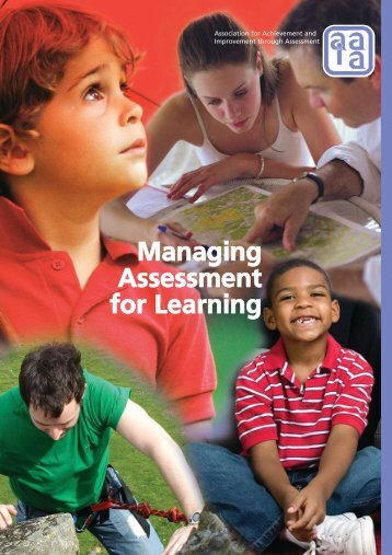 Managing Assessment inside pages - AAIA – The Association for ...