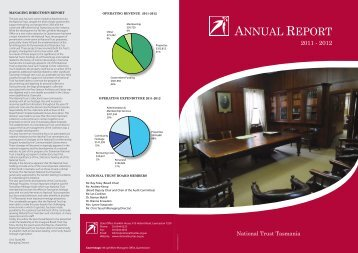 Annual Report 2011 - 2012 - National Trust of Australia