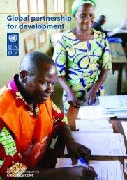 Global partnership for development - UNDP in Turkey