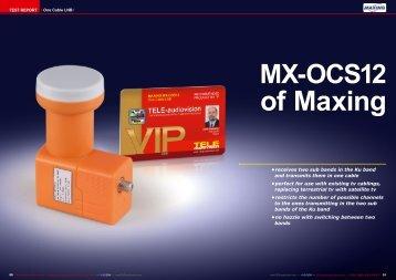 of Maxing