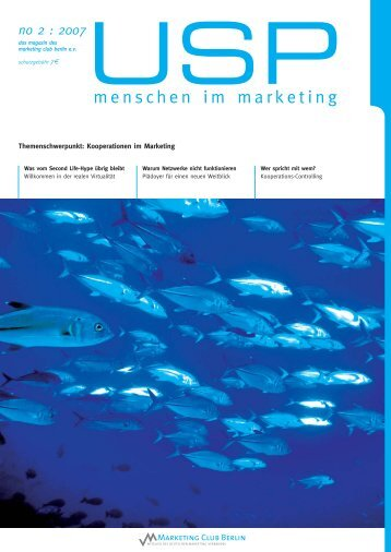 menschen im marketing - Marketing Club Berlin