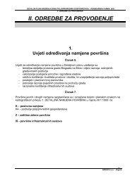 Odredbe - Grad Biograd na Moru