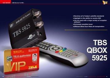 TBS QBOX 5925