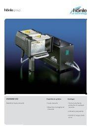Information sur le produit UVAHAND 250 - Dr. Hönle AG