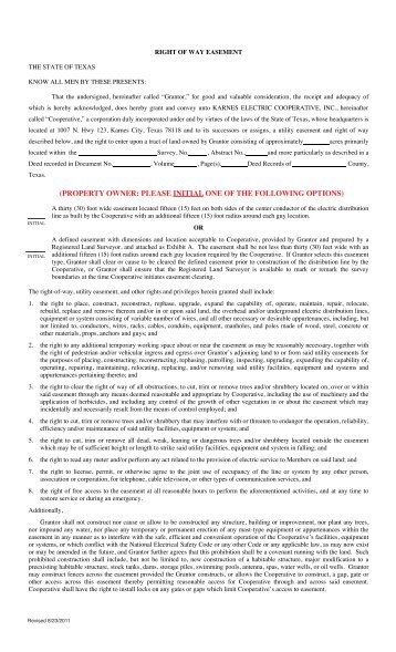Easement Template. 8 road maintenance agreement form samples free ...