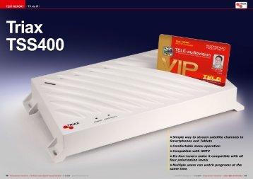 Triax TSS400