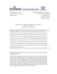 Estimation Methods for Stochastic Volatility Models - Universidad ...