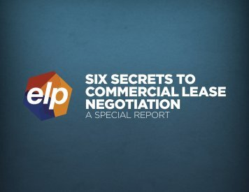 six secrets to commercial lease negotiation - The Dave Ramsey Show