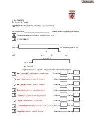 Modello di richiesta editabile - Comune di Faenza