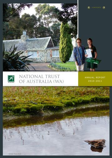 NTWA Annual Report 2010-2011 - National Trust of Australia