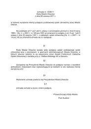 Uchwała nr .IX/98/11 Rady Miasta Otwocka z dnia 28 czerwca 2011 ...