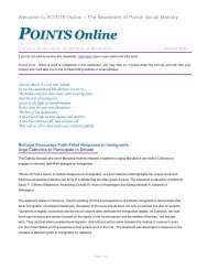 POINTS Online - Catholic Diocese of Wilmington