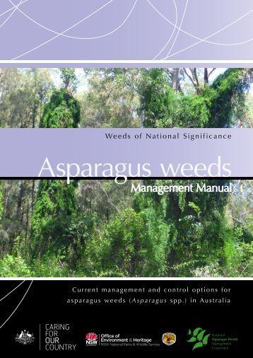 Asparagus weeds - Weeds Australia
