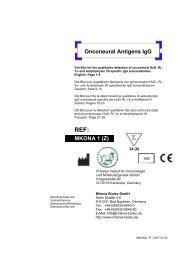MKONA 1 (Z) Onconeural Antigens IgG - Milenia Biotec GmbH