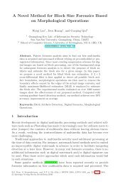 A Novel Method for Block Size Forensics Based on Morphological ...