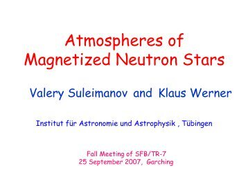 Atmospheres of Magnetized Neutron Stars