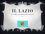 Presentazione Lazio 5 A