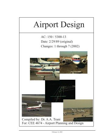 Change 11 to ac 1505300 13 airport design faa consolidated electronic version of ac 5300 13 air transportation publicscrutiny Image collections