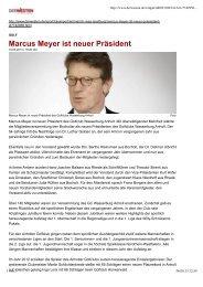 Marcus Meyer ist neuer Präsident - Golfclub Wasserburg Anholt