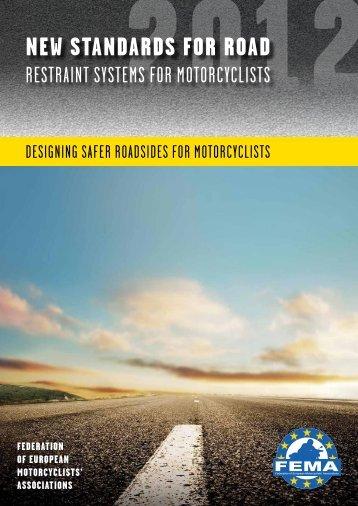 New StaNdardS for road - FEMA