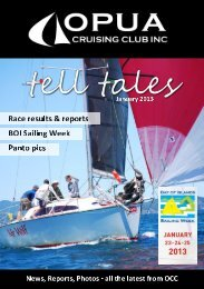 Tell Tales January 2013 – click here to download - Opua Cruising ...