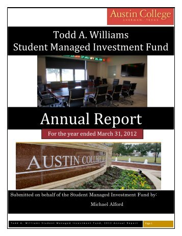 Annual Report 2011-2012 - Austin College