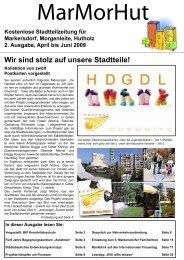 MarMorHut 2. Ausgabe April - Juni 2009 - Quartiersmanagerin ...