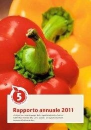 Rapporto annuale 2011 - 5 am Tag