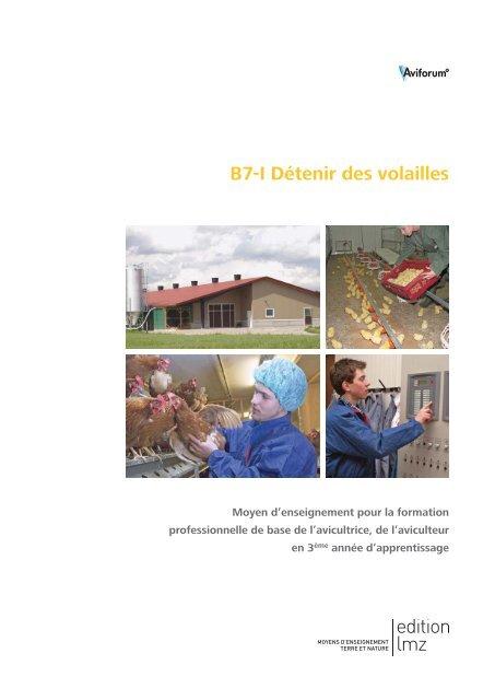 B7-I Détenir des volailles - Aviforum