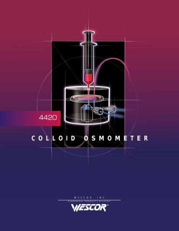 colloid osmometer - Elitech group