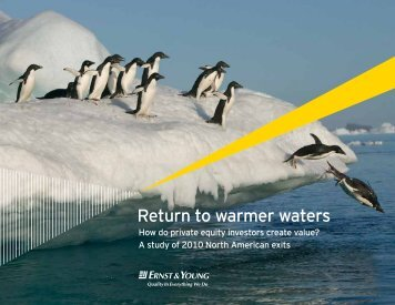 Return to warmer waters - Private Equity Growth Capital Council