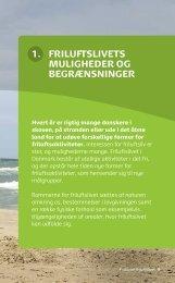 Download kapitel om friluftslivets muligheder og begrænsninger (pdf)
