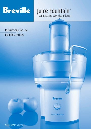 Juice Fountain® - Breville