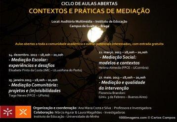 Contextos e Práticas de Mediação - Universidade do Minho
