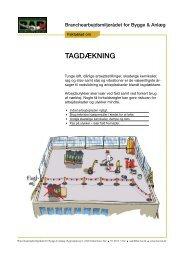 Faktablad om tagdækning - BAR Bygge & Anlæg