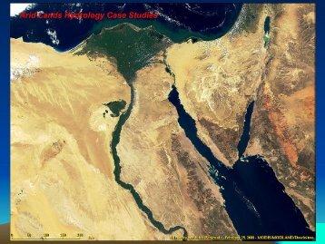 Desert Hydrology Case Studies