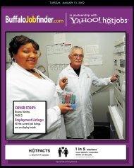 view a PDF of the Buffalo News Job Finder article. - Bureau Veritas