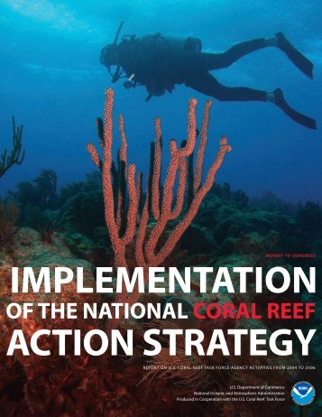 Implementation of the National Coral Reef Action Strategy