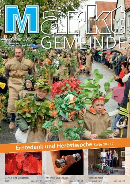 Erntedank und Herbstwoche - Gewerbeverein Herzebrock-Clarholz