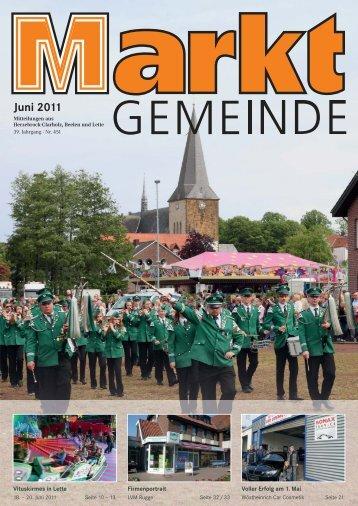 Juni 2011 - Gewerbeverein Herzebrock-Clarholz