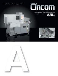 Sliding Headstock Type CNC Automatic Lathe