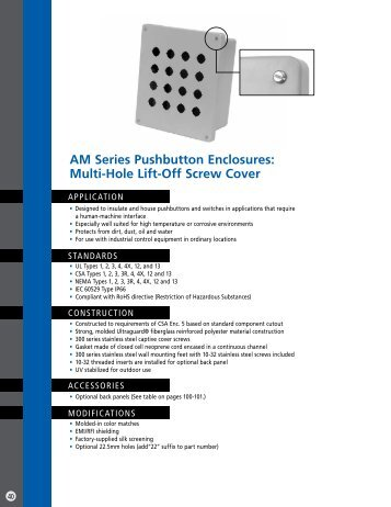 Multi-Hole Lift-Off Screw Cover - Solutions Direct
