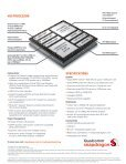 QUALCOMM SNAPDRAGON 400 PROCESSORS - Page 2