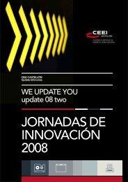 JORNADAS DE INNOVACIÓN 2008 - EmprenemJunts