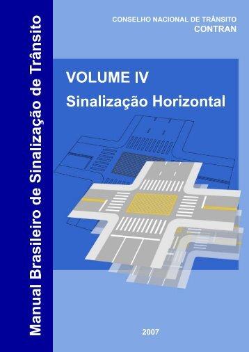 Manual de Sinalização Horizontal - Dnit