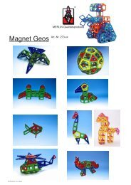 MERLIN Qualitätsprodukte Magnet Geos Art.-Nr. 273-xx - Gregishp.ch