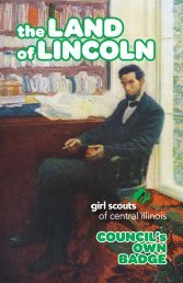 Council's Own Badge Book - Girl Scouts of Central Illinois
