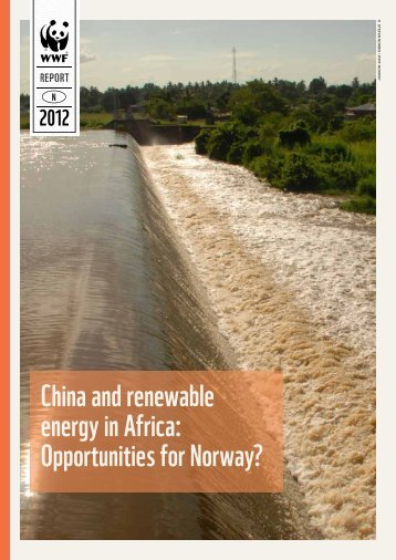 China and renewable energy in Africa: Opportunities for ... - WWF