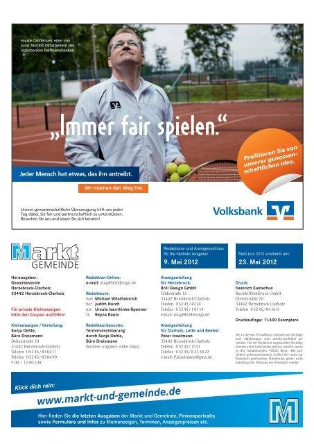 Mai 2012 - Gewerbeverein Herzebrock-Clarholz