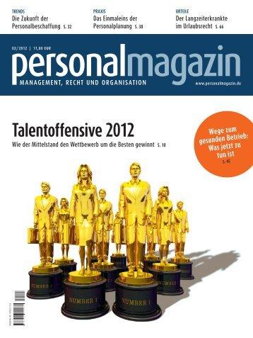 Talentoffensive 2012 - Haufe.de